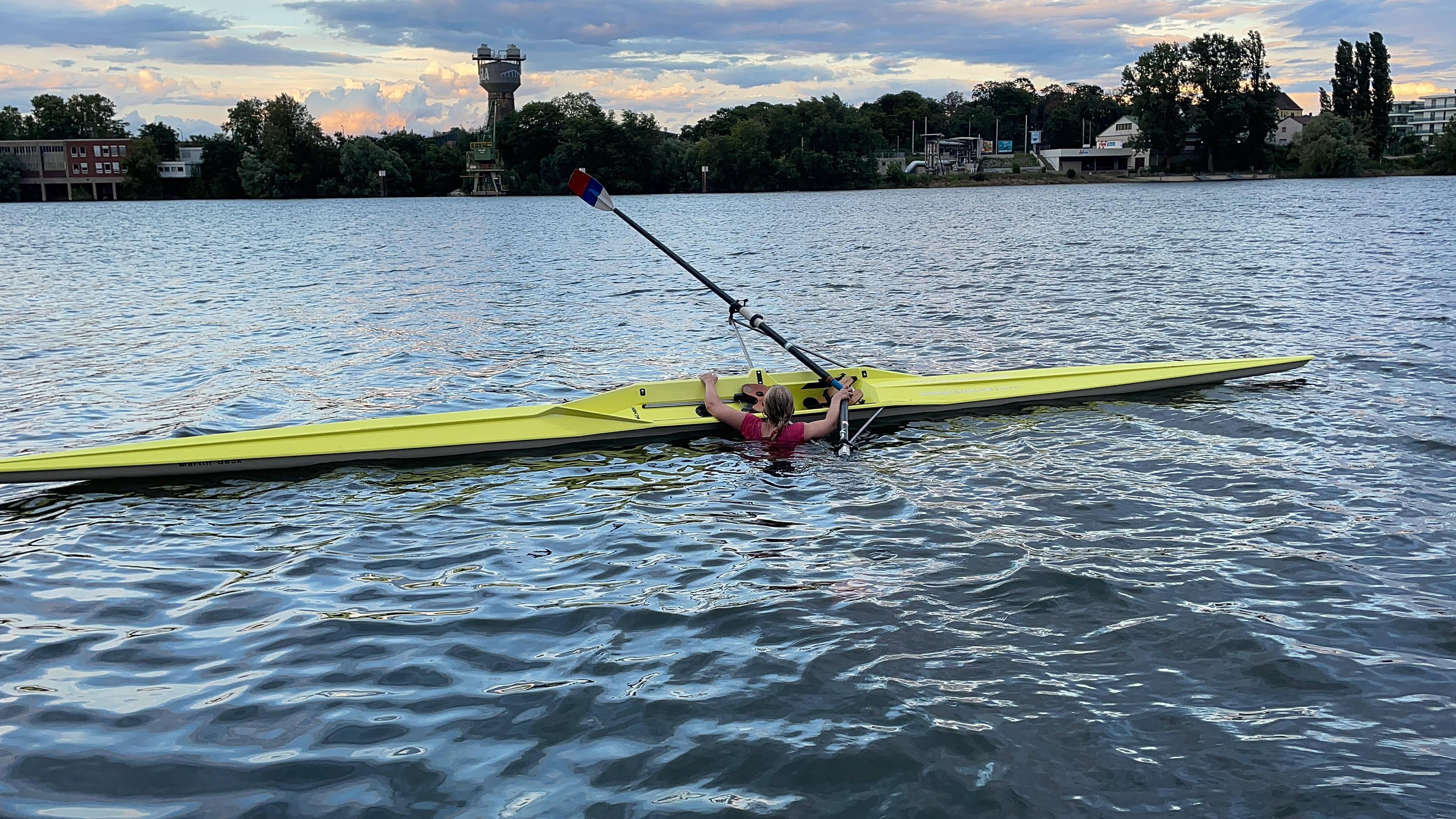 Einer-Crashkurs - Kentertraining - wieder ins Boot einsteigen lernen