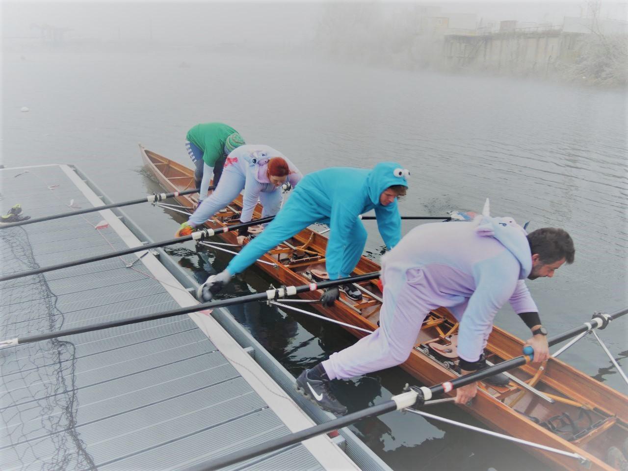 Nikolausrudern 2017 Einhornboot